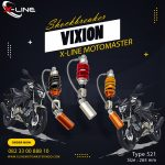 Shockbreaker xline 521 vixion 265 mm